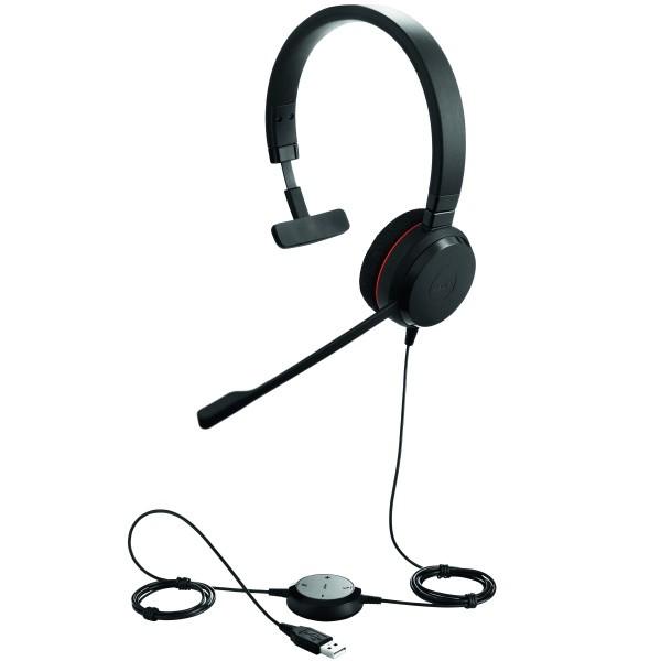 Jabra Evolve 20 Headset Mono USB