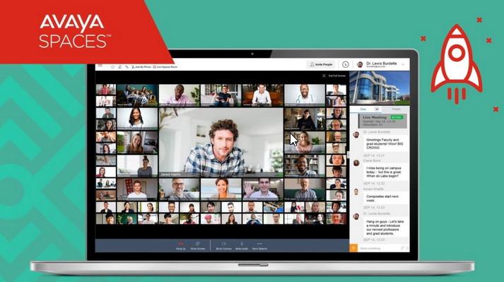 AVAYA Spaces - Videokonferenz aus der Cloud