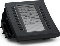 snom D3 Tastaturerweiterung schwarz