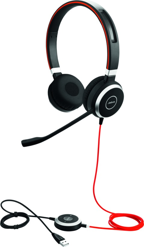 Jabra Evolve 40 Headset Duo 3,5mm / USB