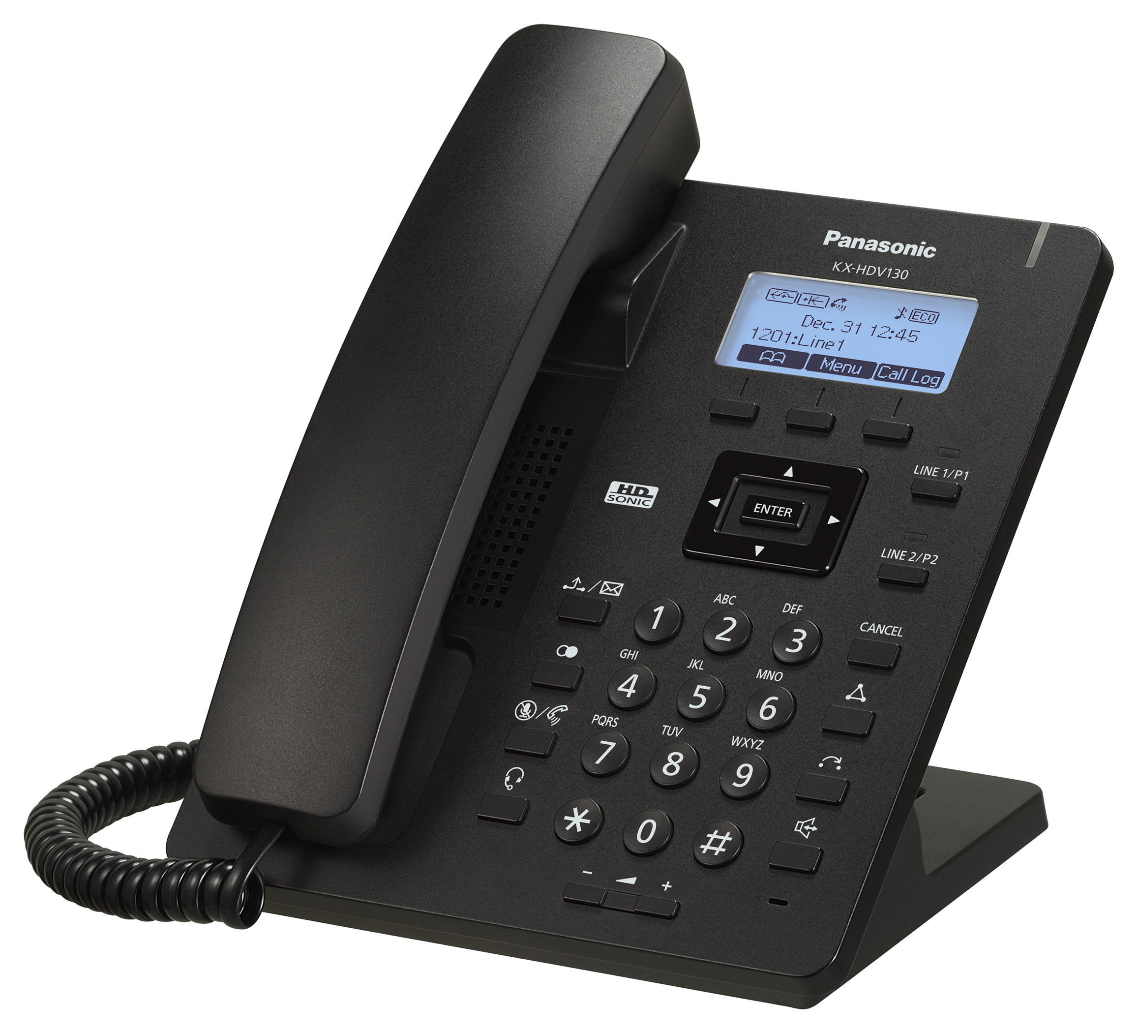 Panasonic - KX-HDV-130, schwarz