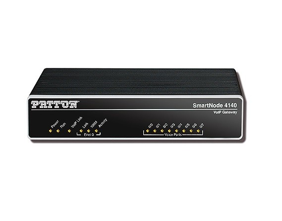 Patton SmartNode 4141, 4 FXS, 4 VoIP-Calls
